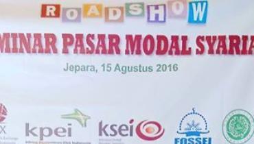 KSEI An-Nahdloh UNISNU Jepara Laksanakan Seminar Pasar Modal Syariah