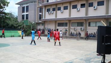 Semangat Futsal Mahasiswa Unisnu Jepara