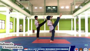 Mahasiswa FEB Raih Emas pada The Best of Indonesia Changmookwan International E Poomsae 2020