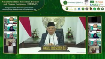 Buka Konferensi Ekonoomi Syariah di Unisnu Jepara, Wapres Tekankan Indonesia Sebagai Produsen Produk Halal