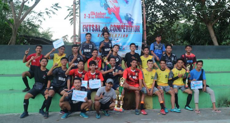 Pemenang lomba Futsal Harlah FEB Unisnu Jepara