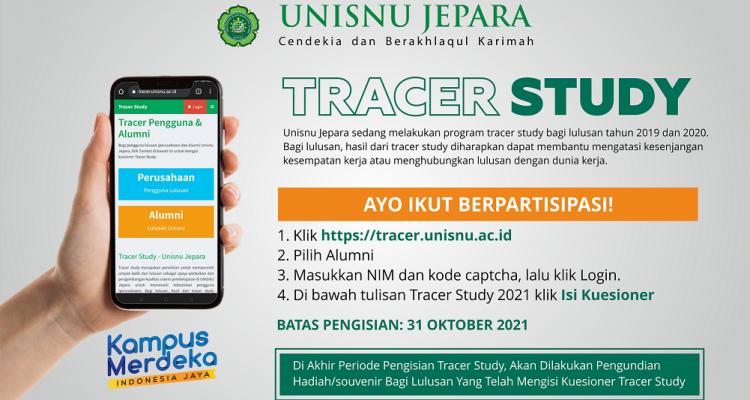 Pengisian Tracer Studi (Penelusuran Alumni) Tahun 2021